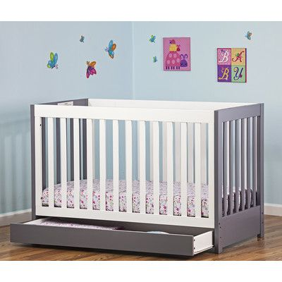 Featuring A Convenient Draw For Easy Access Toy Your Baby Essentials, This  Modern Dream On Me Milano Convertible Crib Is The Perfect Mixture Of  Fashion And ...