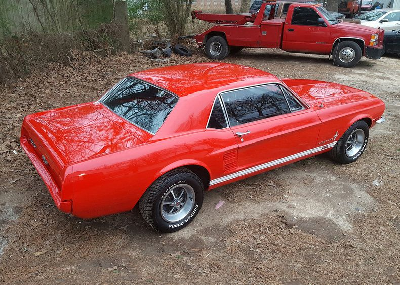1967 Ford Mustang GT Coupe