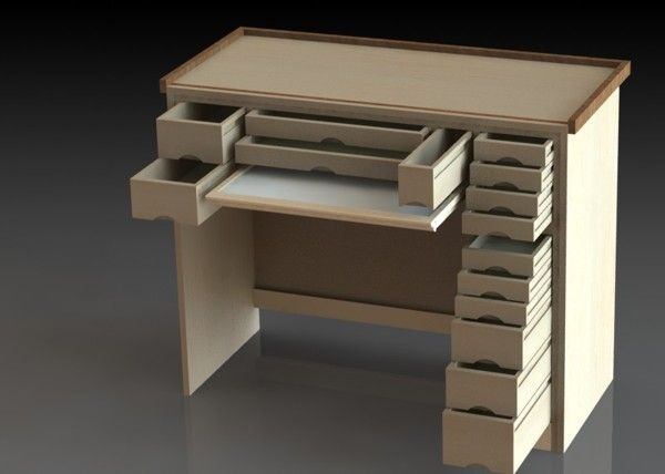 This Is A Watchmakers Work Bench And The Plans To Build