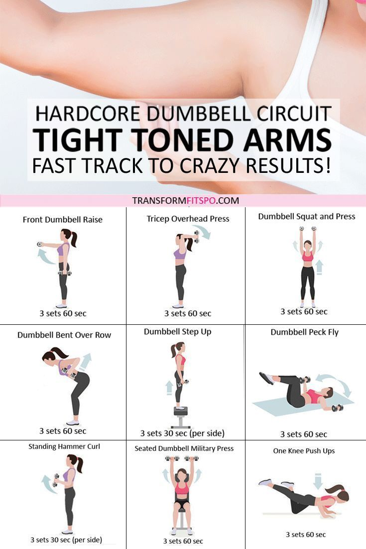 ?? Tone and Tighten Your Arms! Dumbbell Progressive Circuit to Get CRAZY Results.. -  - #Arms #Circu...
