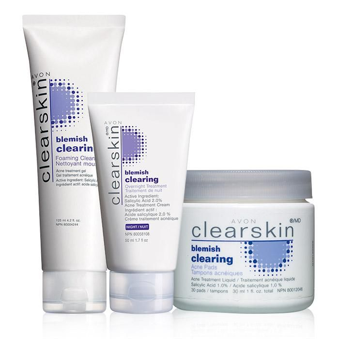 Valued at $16.47, the set includes:Clearskin® Blemish Clearing Foaming CleanserThis daily foaming gel cleanser, with Blemish Busting Technology, reduces acne size, and the appearance for redness and swelling. Helps control excess oil and leaves skin looking cleaner.4.2 fl. oz.  BENEFITS • For the treatment of acne• Clears up acne blemishes • Helps prevent new acne blemishes from forming• Oil-free• Noncomedogenic• Allergy tested and dermatolo...