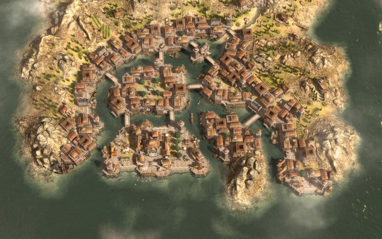 Anno 1404 Efficient Building Layouts.Anno 1404 Dawn Of Discovery Views Pcgameshardware 2013 Games