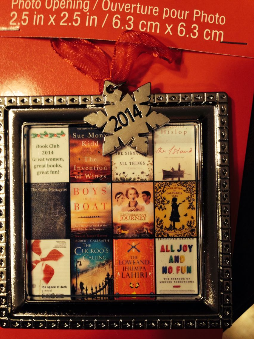 Good Book Club Christmas Party Ideas Part - 10: A Gift From A Friend In My Neighborhood Book Club. Doesnu0027t Get Much