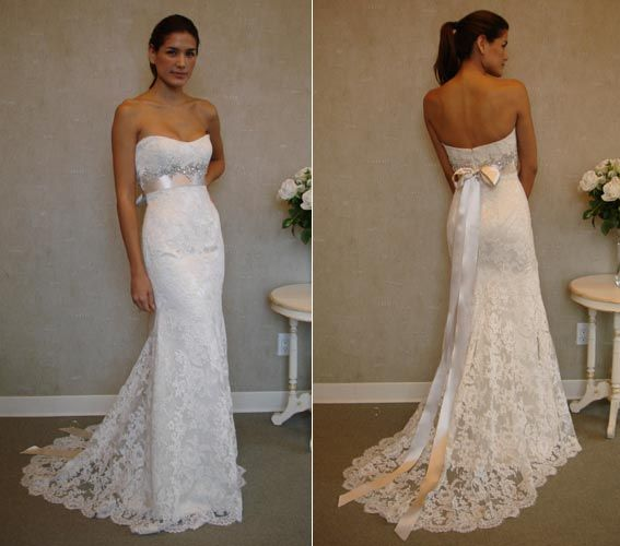 New Stock Lace Wedding Dress Evening Prom Ball Gown Size 6 8 10 12 14 16