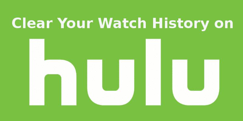 Hulu Watch History History Hulu How To Remove