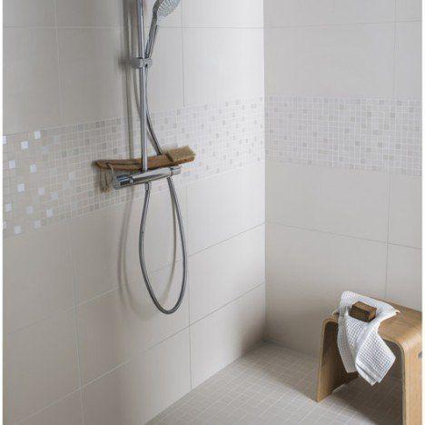 Faïence mur ivoire, Purity l30 x L60 cm buanderie/salle de bain