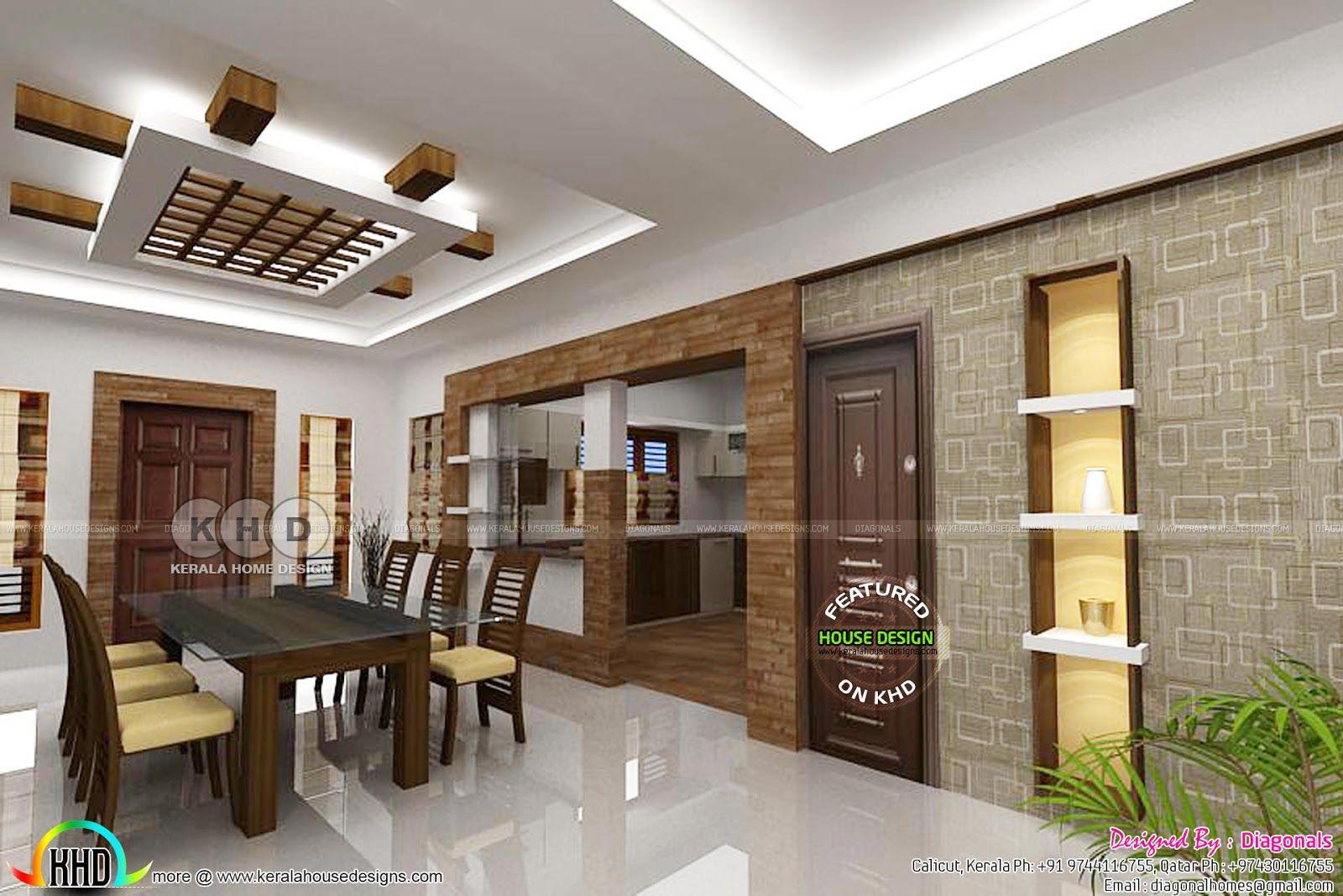 House Interiors By Diagonals Kerala House Design Interior House