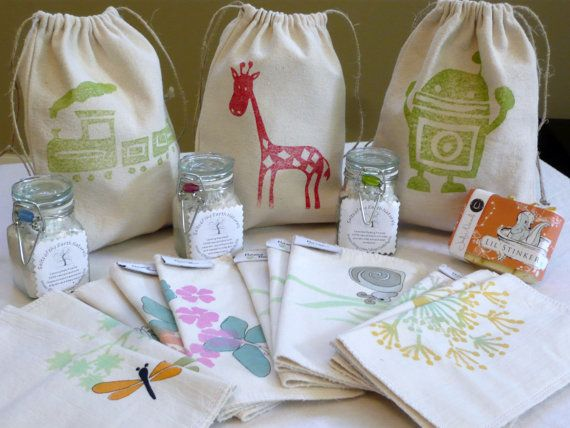Baby Bath Gift Bags on Etsy, $40.00