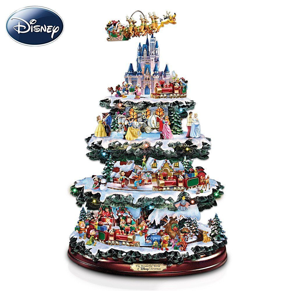 Disney Tabletop Christmas Tree: The Wonderful World Of ...