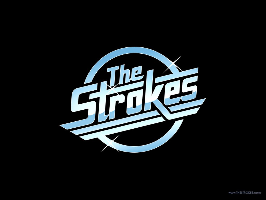 The Strokes Music Band Logo Bumper Sticker Decal Vinyl Punk Indie Car