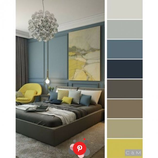 Cvet Dlya Detskoj Komnaty Kak Vybrat Pravilno In 2020 Brown Bedroom Colors Room Wall Colors Bedr In 2020 Bedroom Color Schemes Room Color Schemes Bedroom Colors