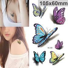 Afbeeldingsresultaat voor vlinder tattoo designs