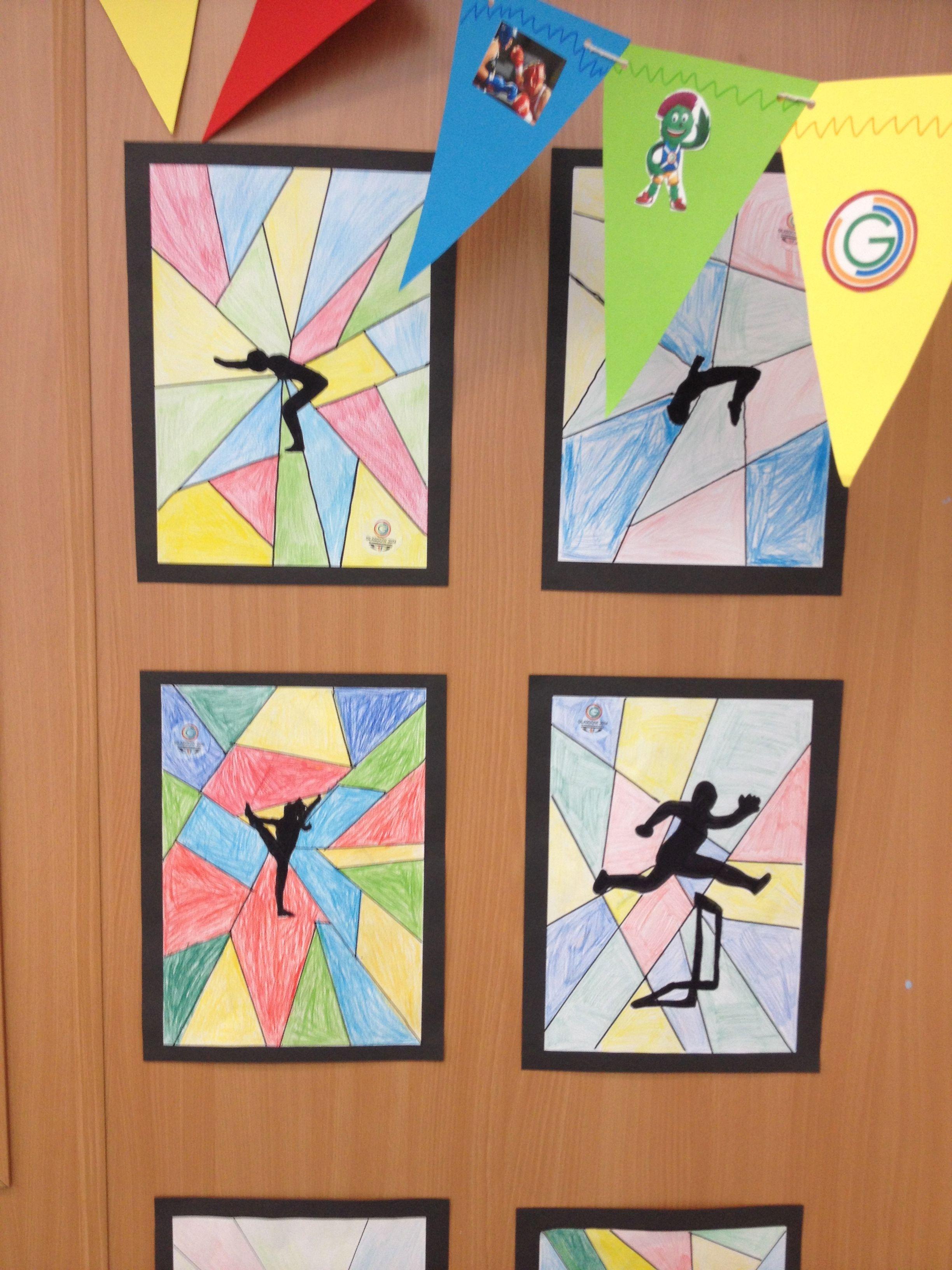 commonwealth games art arts crafts pinterest olympische spiele zeichenunterricht und. Black Bedroom Furniture Sets. Home Design Ideas