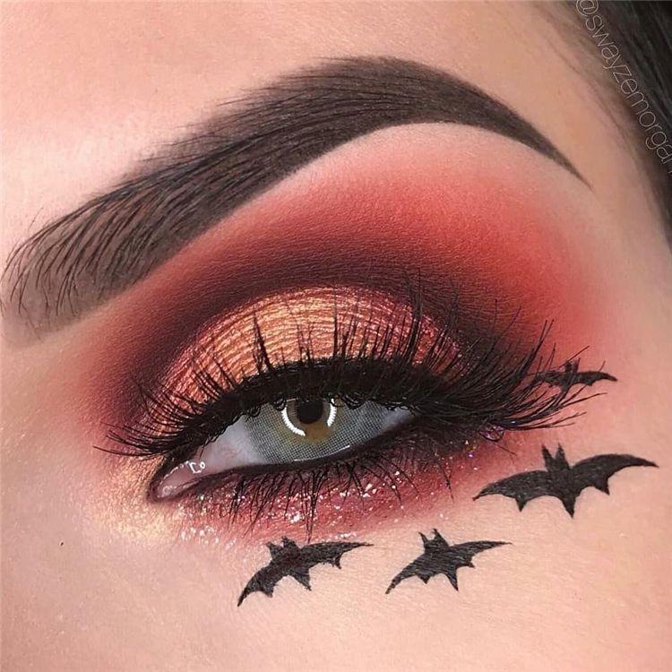 Cute Halloween Eye Makeup.Amazing And Stunning Halloween Eye Makeup Ideas For Your Inspiration Halloween Eye Makeup Eye Mak Halloween Eye Makeup Cute Halloween Makeup Holloween Makeup