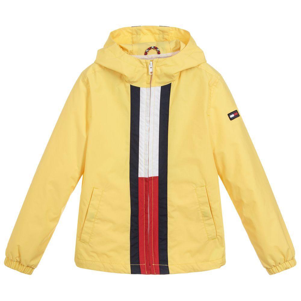 865d74d79 Yellow Showerproof Jacket