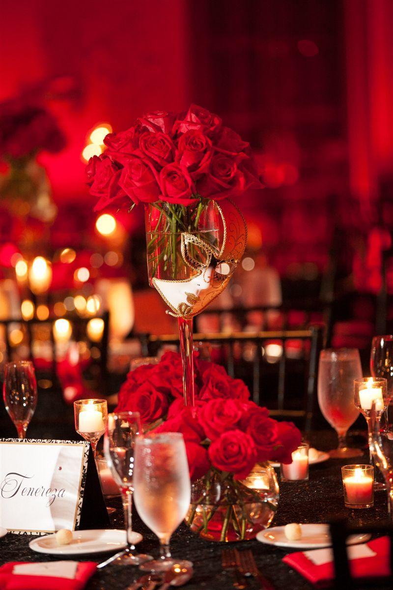 Venetian Theme Wedding- www.armoniapr.com | Tablescape | Pinterest ...
