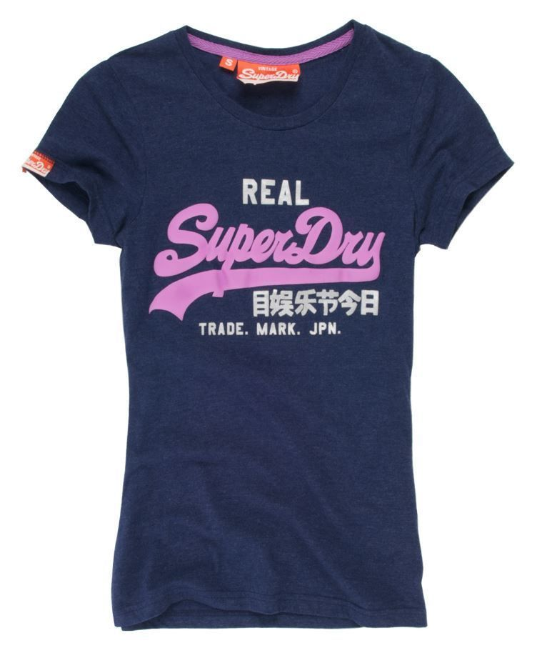 Superdry Vintage Logo Duo T Shirt | TDF Fashion