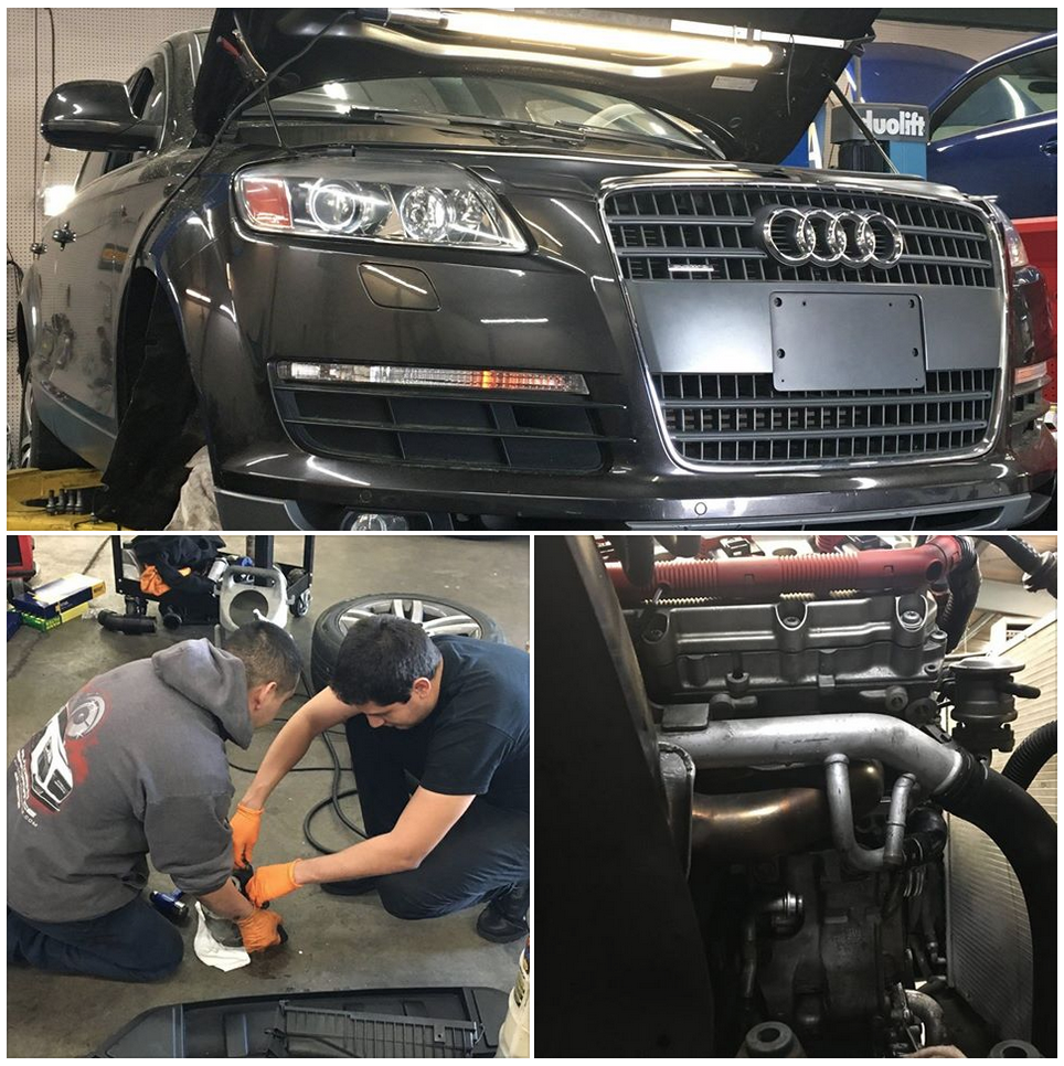 Our Atlanta Audi Service Professionals Fixing An Oil Leak Once And