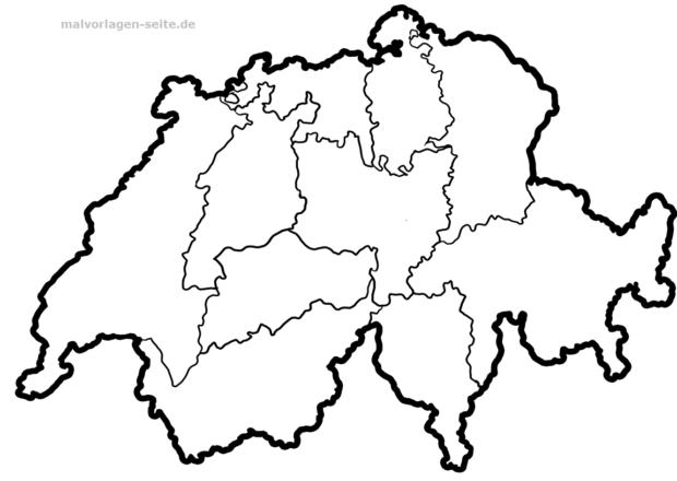 Kantone der Schweiz und ihre Hauptstädte in der Übersicht ...