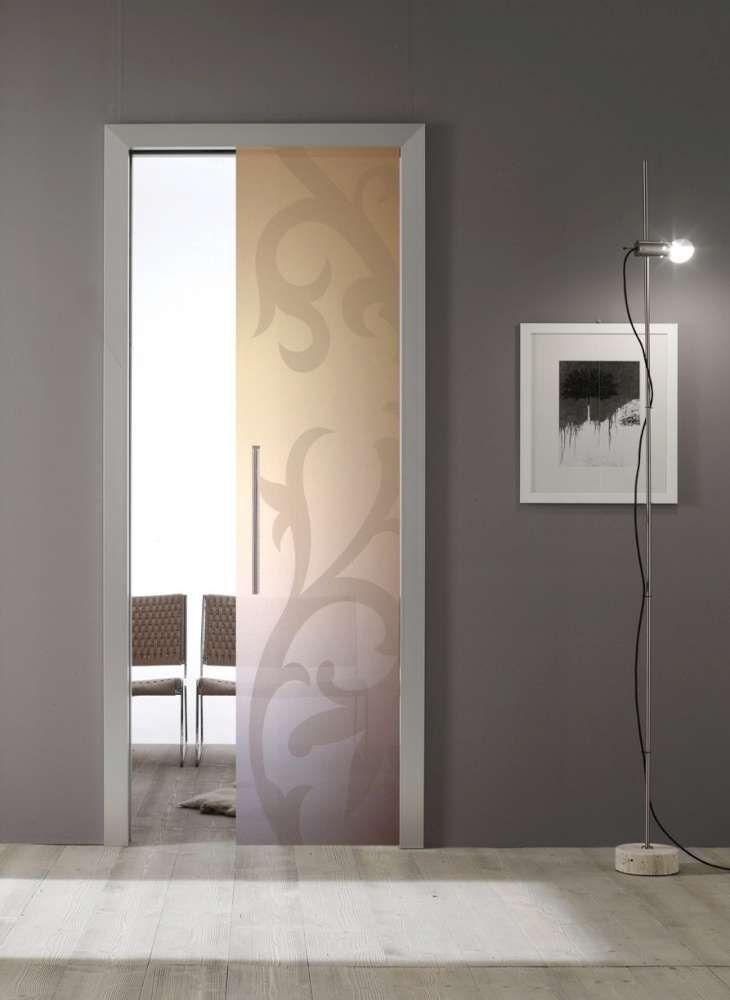 Porta in vetro scrigno porte da interno nel 2019 pinterest glass door bathroom doors e - Porte scorrevoli per interno ...