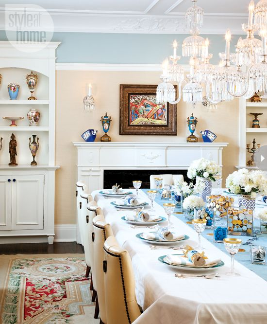 Trendy Home Decorating Ideas: Interior: Hanukkah Home Decor