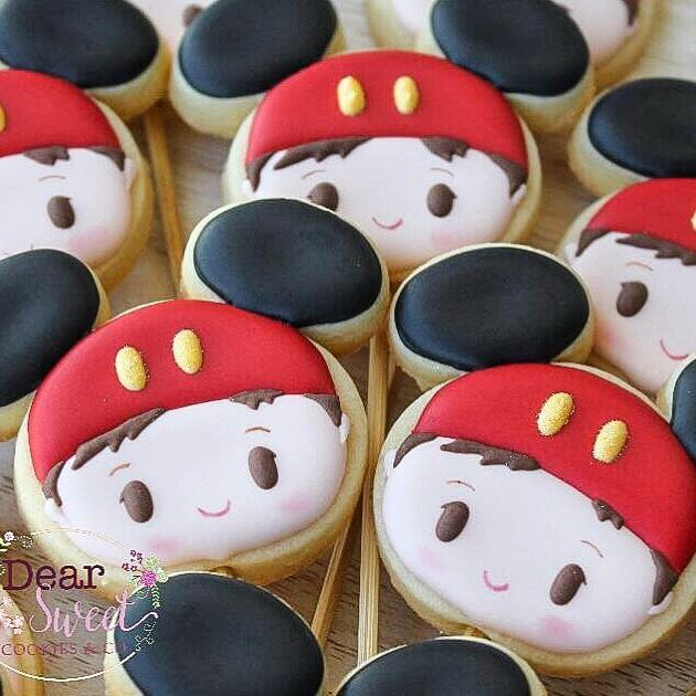 Mickey Mouse kids disney | NIÑOS GALLETA | Pinterest | Kekse backen ...
