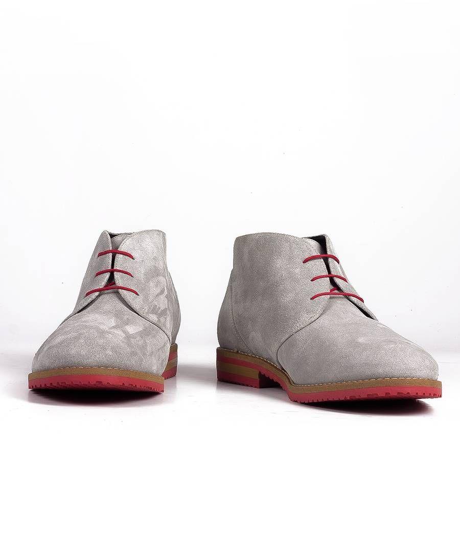 Hemsted & Sons ☆ Herrenschuhe grauorange | Men`s Shoes