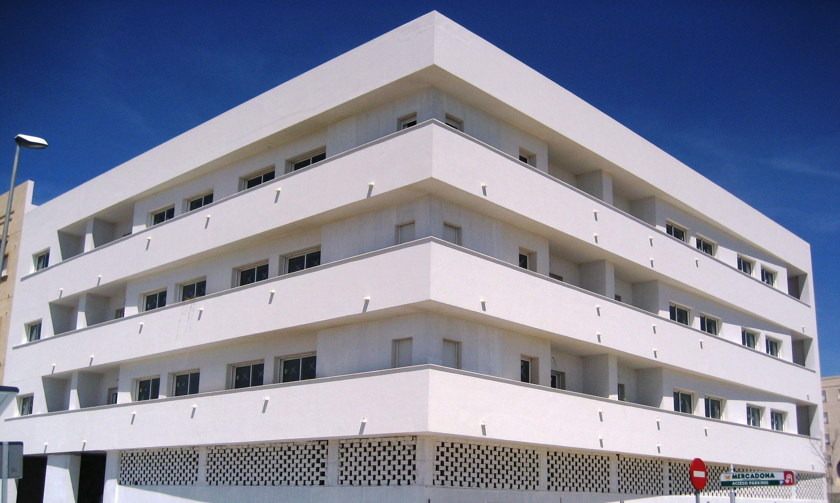 Edificios moderno exterior fachada edificios for Exterior edificios