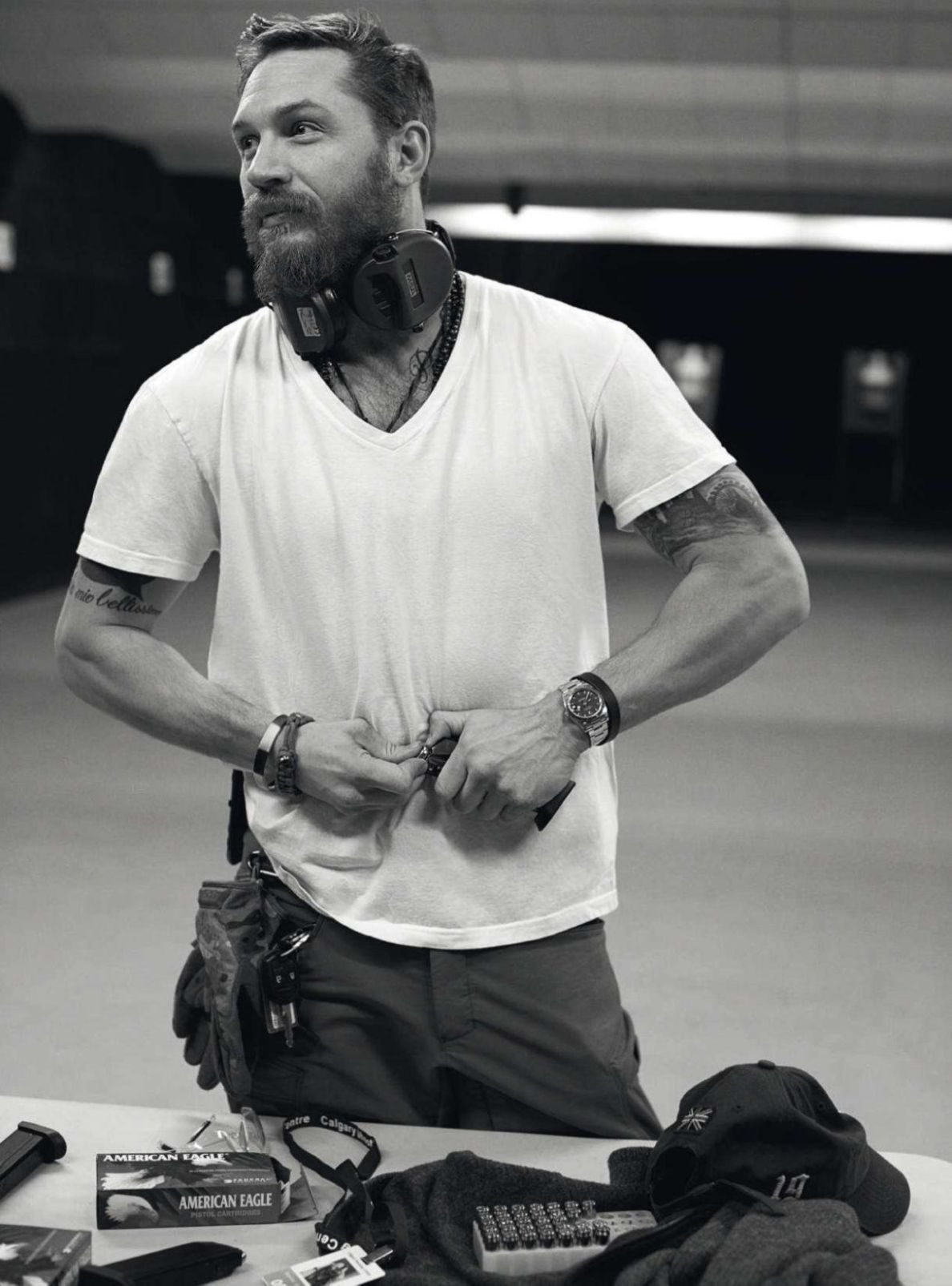 Tom Hardy Promotes Mad Max, Covers May 2015 Details