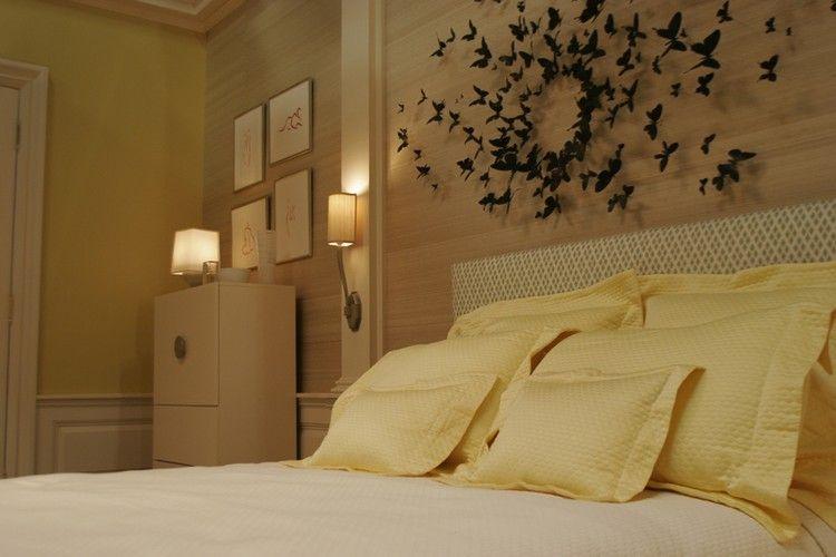 AuBergewohnlich Schlafzimmer Inspiration Gossip Girl Serena Zimmer Wanddekoration  Schmetterlinge #bedroom #ideas