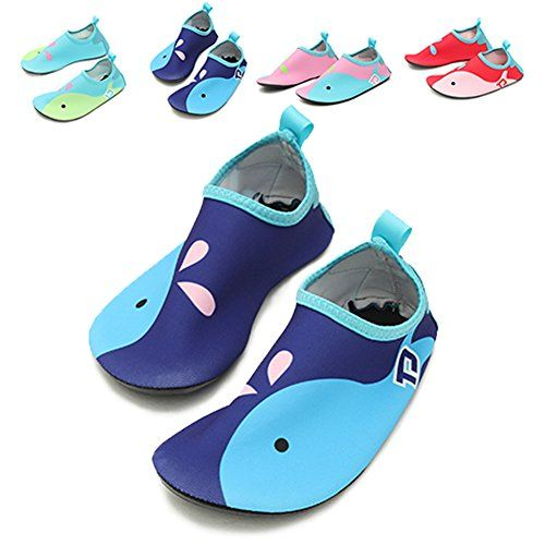 Kids Swim Water Shoes Barefoot Aqua Socks Shoes for Beach Pool Surfing Yoga Exercise
