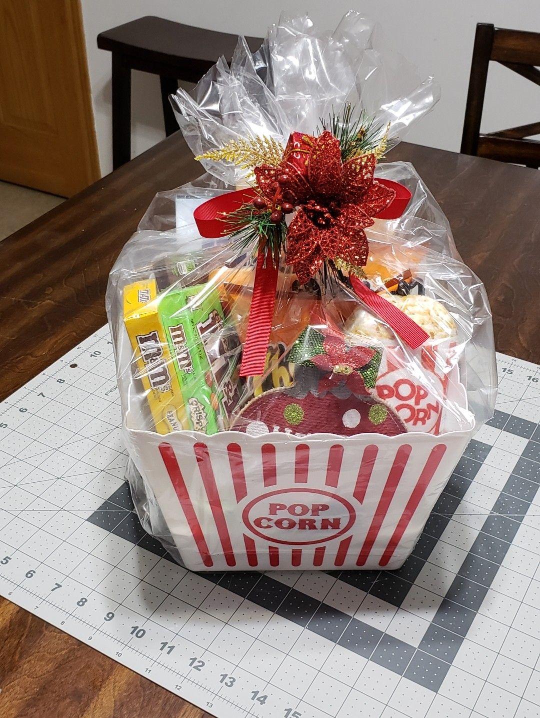 Diy Christmas Gift Basket Christmas Gift Baskets Diy Diy Christmas Gifts Christmas Diy