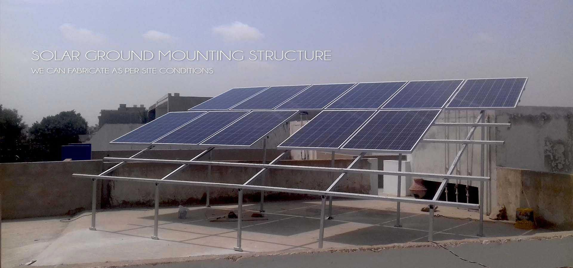 We Design Solar Panel Structure As Per Site Conditions Our Ms Structure Ability To Install 3 Up Solar Panels Solarpan Solar Panels Solar Solar Energy Panels