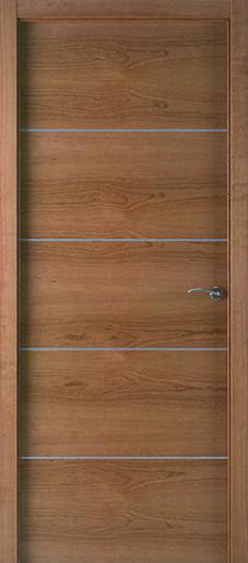 Puertas de madera modernas de eurodoor ofrece un extenso for Puertas de madera interiores modernas