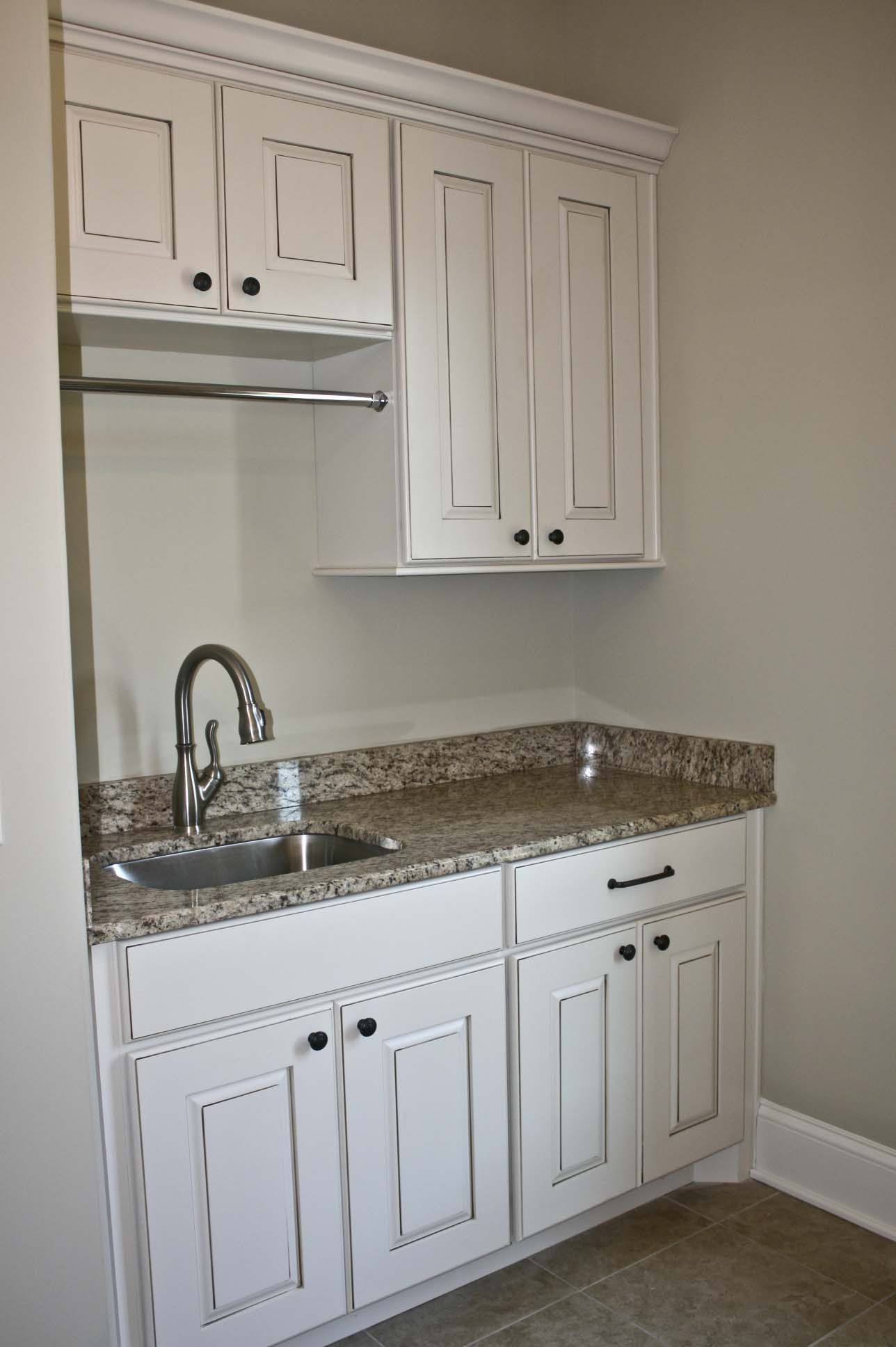 Koch Cabinets In Norfolk Door Style Painted Pearl With Umber Highlights Cabinet Home Home Decor