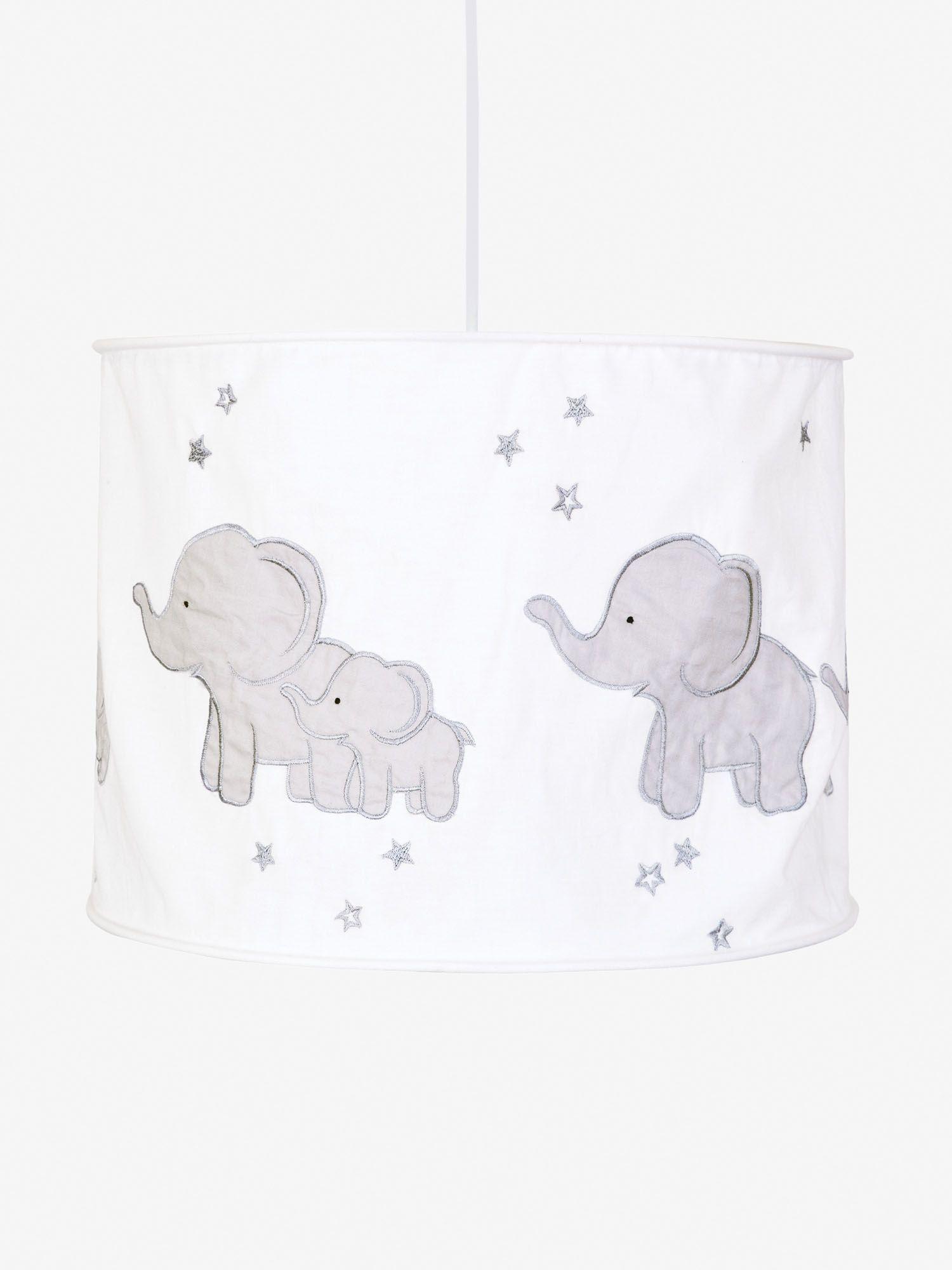 Grey Elephant Lampshade