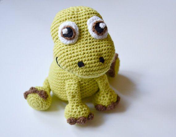 Crochet PATTERN Dinosaur Apatosaurus pattern by Krawka por Krawka ...
