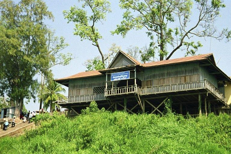 Kratie port, Kratie Krong, Kingdom of Cambodia.