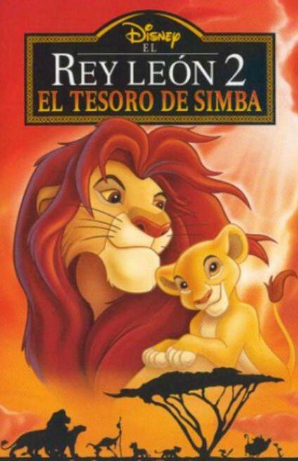 Disney S El Tesoro De Simba El Rey Leon 2 Lion King Poster Lion King Movie Lion King Ii