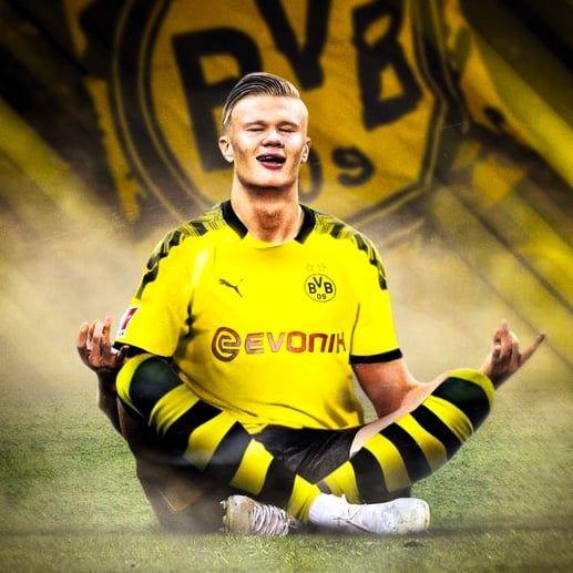 Official Erling Haaland Has Joined Borussia Dortmund Bvb Jogadores De Futebol Esportes Futebol Desenho Futebol