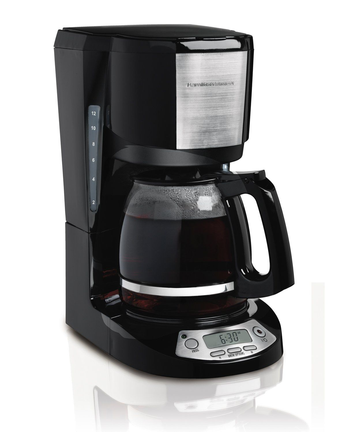 Hamilton Beach 49611 12 Cup Coffeemaker with Digital Clock
