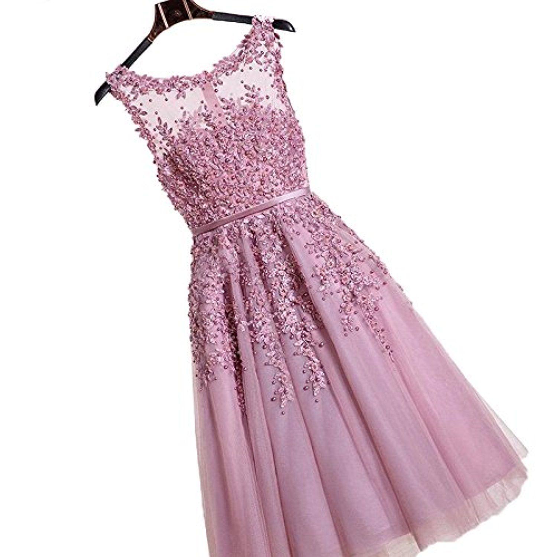 babyonline damen rosa perlstickerei spitze applique tüll