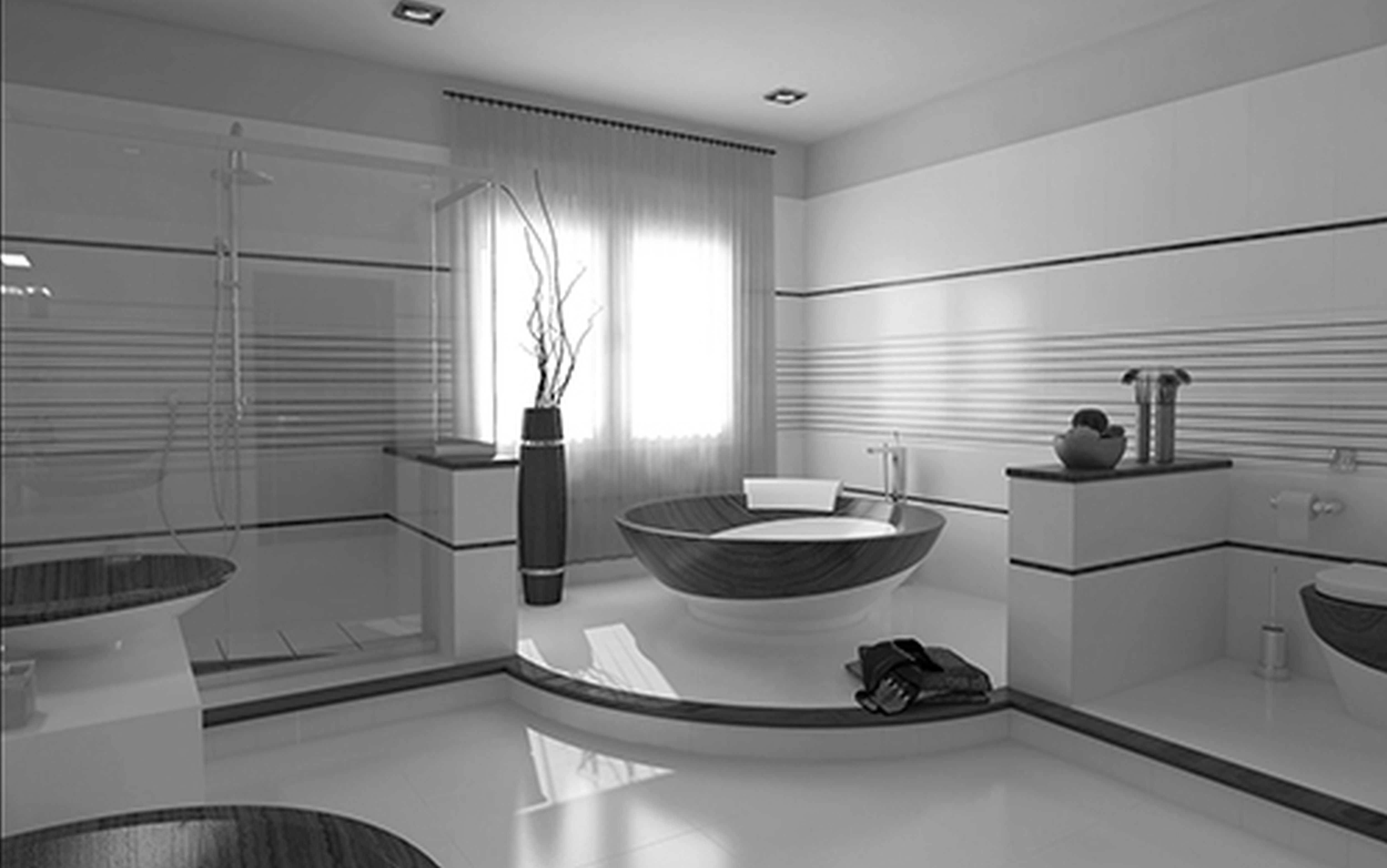 Home interiors bathroom - House Modern Contemporary Bathroom Interior Design Home And Design Interior Magazine