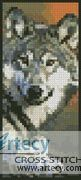 Wolf 2 Bookmark Counted Cross Stitch Pattern http://www.artecyshop.com/index.php?main_page=product_info&cPath=26&products_id=1392