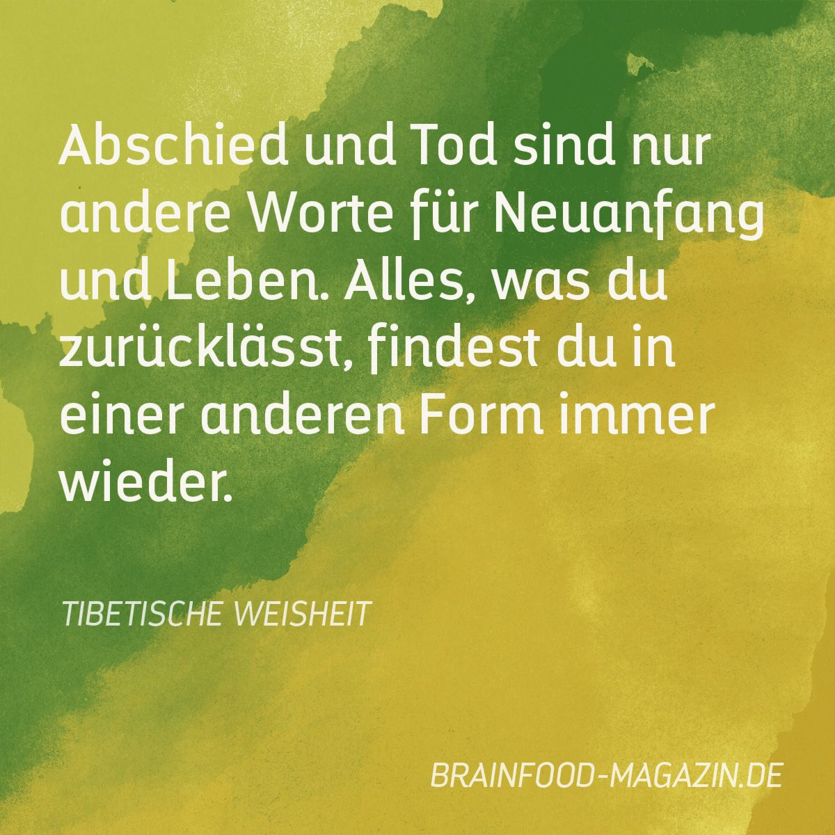 Abschied Neuanfang abschied und tod neuanfang abschied und tod