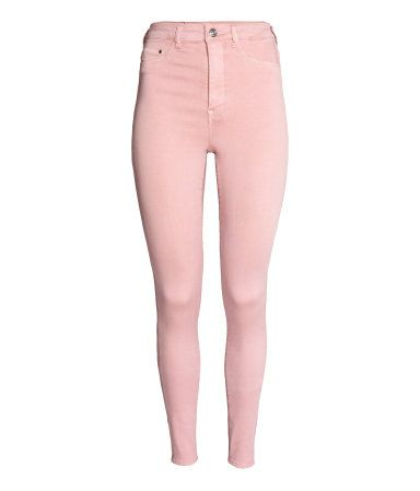 54680820e0b6f Super Skinny High Jeggings | Light pink | Women | H&M US | ROBLOX ...