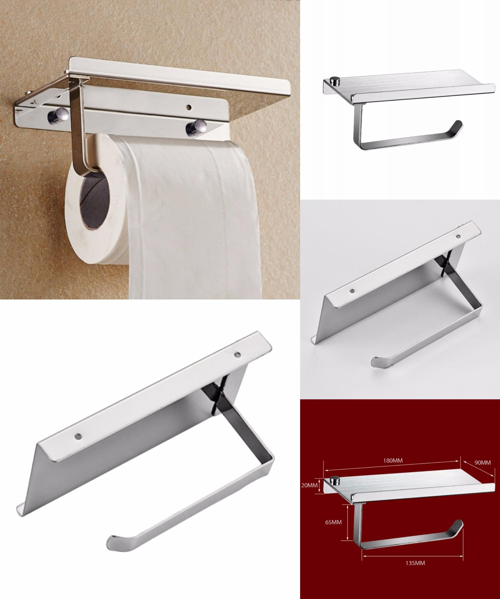 Visit To Buy 1pcs Creative Design Bathroom Stainless Steel