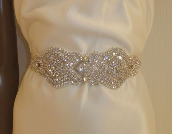 MY DIY BRIDAL SASH : wedding brdal sash bridal accessories