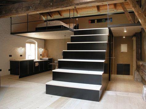 loft bed for the home pinterest chambre chambre enfant et pi ce. Black Bedroom Furniture Sets. Home Design Ideas