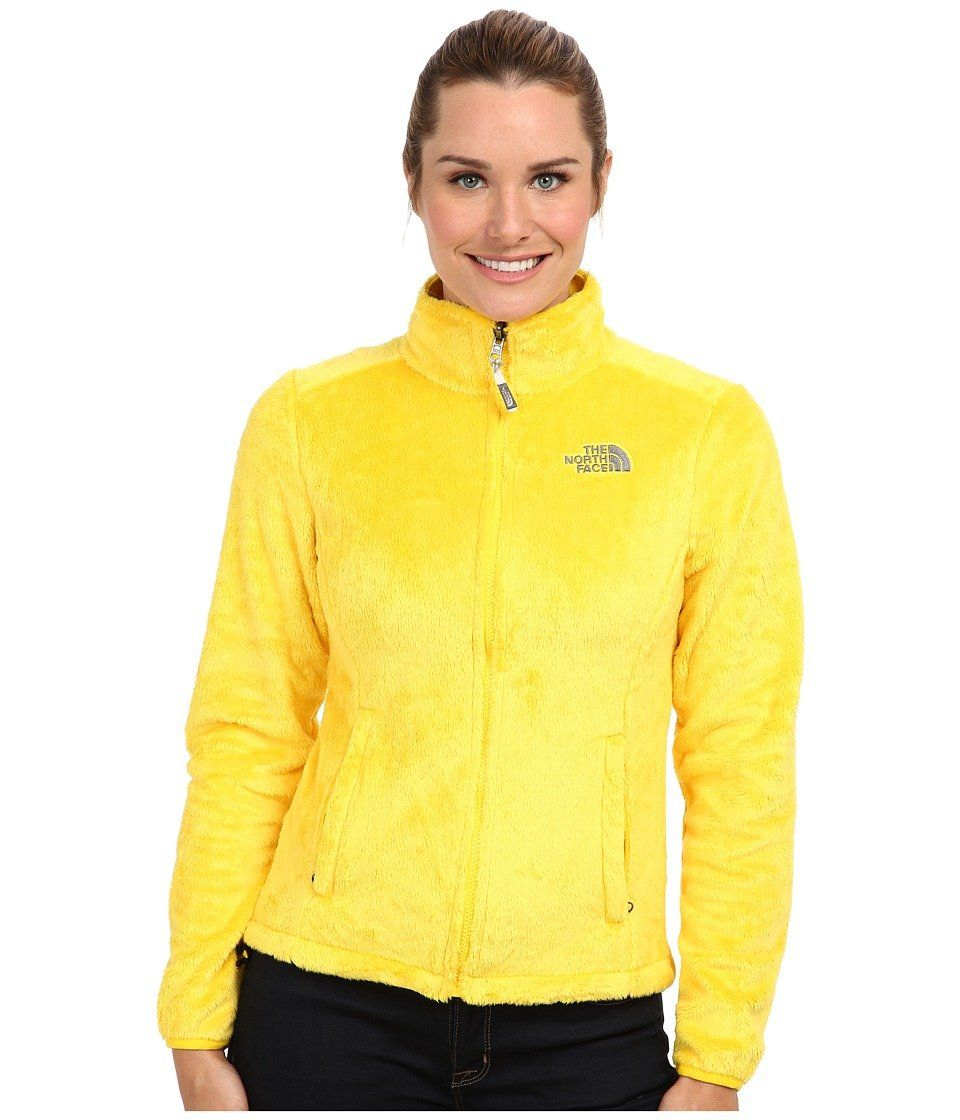 On Amazon The North Face Osito Jacket Women S Lightning Yellow Jackets For Women North Face Jacket Womens Jackets [ 1120 x 960 Pixel ]